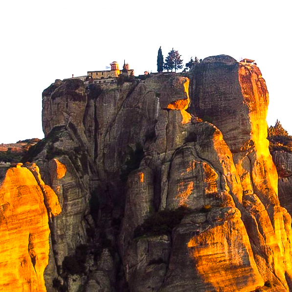 Geological rocks of Meteora