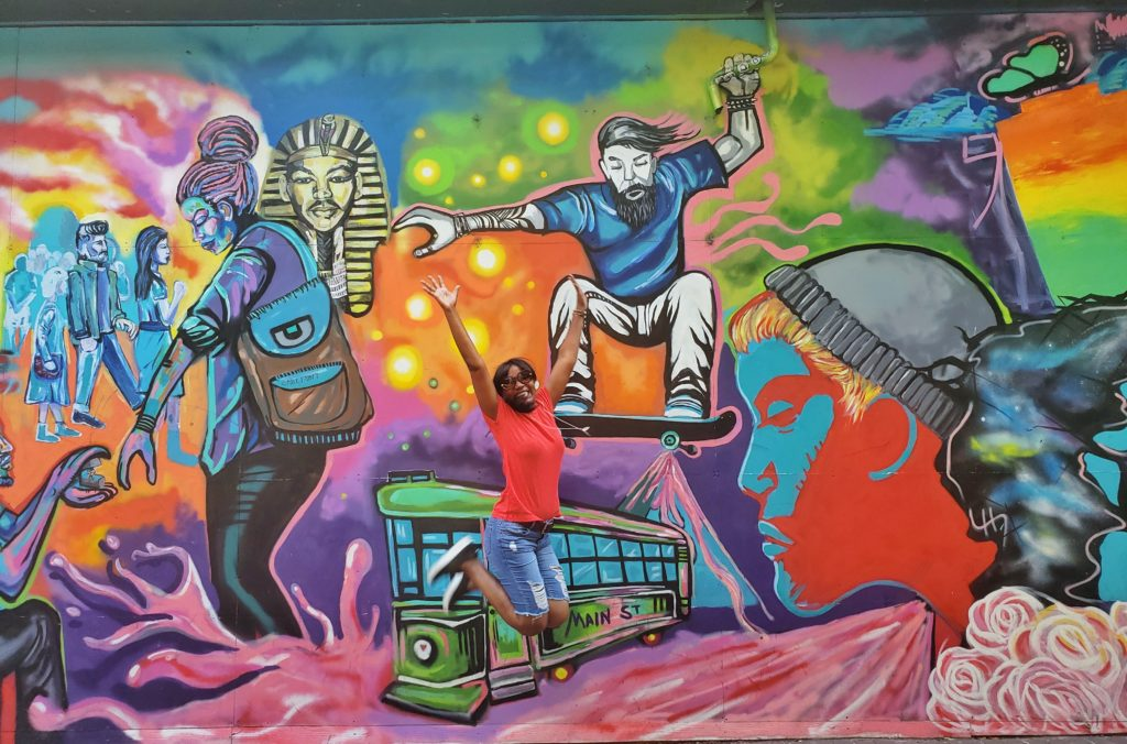 A Day in the life mural_Memphis