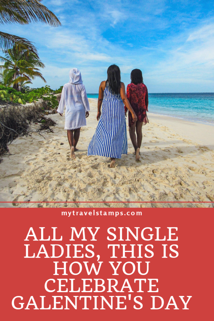 Three black women walking down the beach_MyTravelStamps